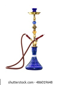 Hookah ( Water pipe ) isolated on white background