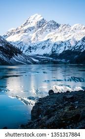 Hooker Lake & Mount Cook - New Zealand