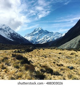 Hooker Valley Mount Cook New Zealand