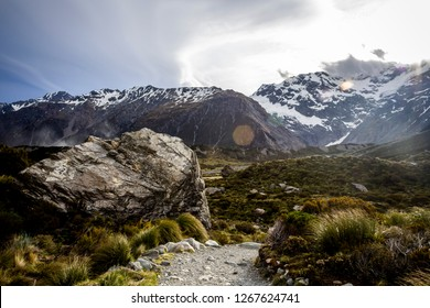 Hooker Valley Track Mount Cook New Zealand