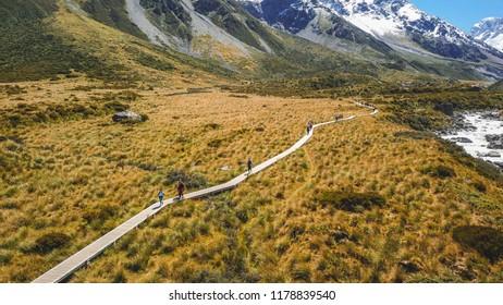 Hooker Valley Track, Mt Cook National Park