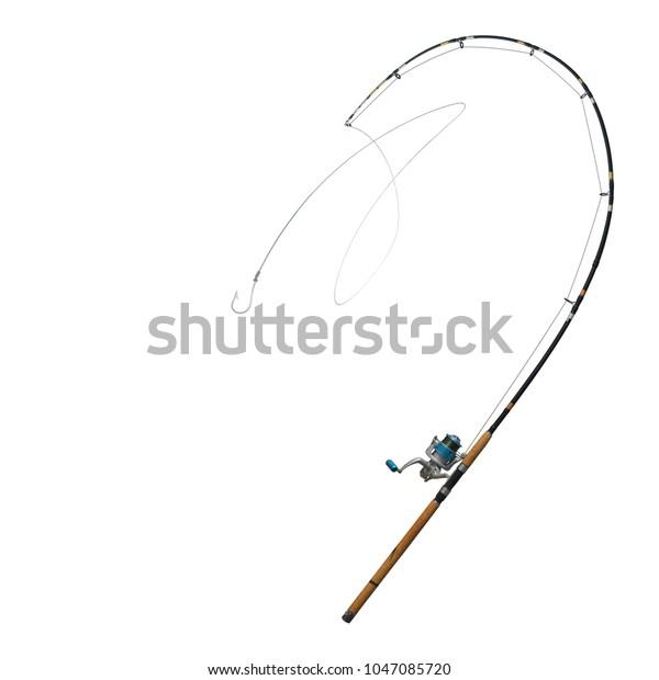 Hooks Fishing Tackles Fishing Line String Stock Photo (Edit