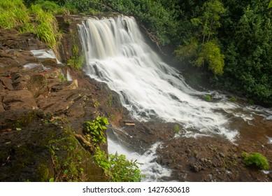 Ho'opi'i Falls On Island Of Kauai