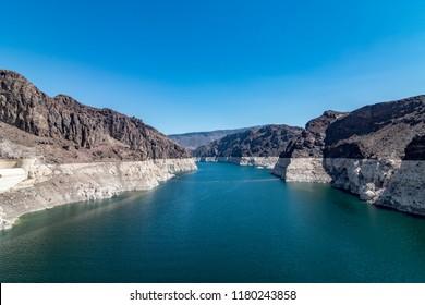 Hoover Dam Boulder City, NV, USA. 08/30/2018