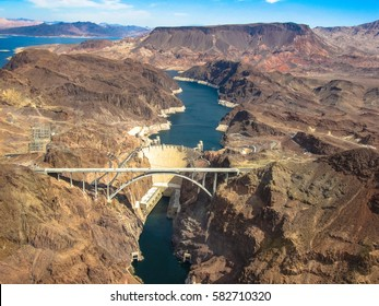 Hoover Dam by helicopter