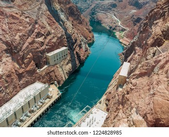 The Hoover Dam outlet