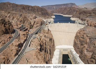 Hoover Dam, view from above