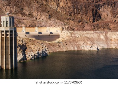 Hoover Damn Hydroelectric Power Plant at the Nevada-Arizona border.