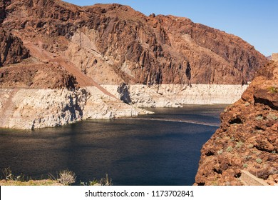 Hoover Damn at the Nevada-Arizona border.