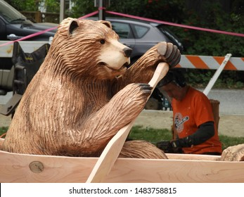 Carved Wooden Bear Images Stock Photos Vectors Shutterstock