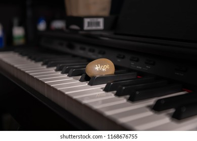 Hope Stone On The Piano