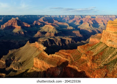 Hopi Point at Sunset, Grand Canyon National Park, AZ