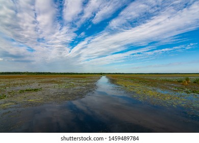 Hopper Lake in Dixon Waterfowl Refuge on a beautiful Summer morning.