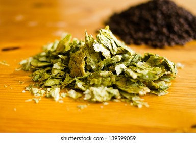 Hops and Malt for brewing