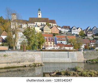 Horb am Neckar in Black Forest,Baden-Wuerttemberg,Germany