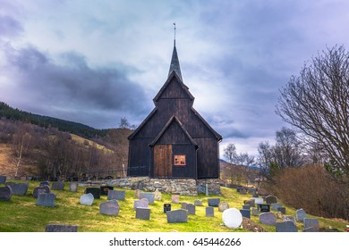 Hore, Norway - May 14, 2017: Hore Stave Church, Norway