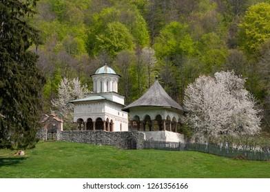Horezu monastery in valcea county,romania