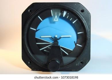 Horizon gyro indicator ,Avionics  equipment.