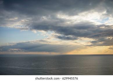 Horizon on the black sea