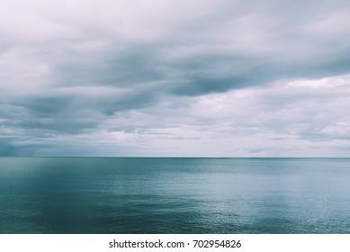 Horizon of the sea