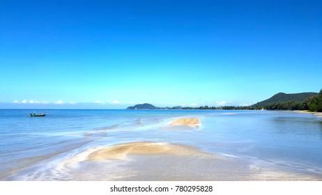 Horizon of the sea.