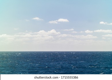 horizon at sea near Malta