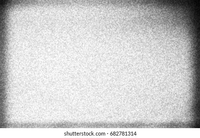 Horizontal black and white noise filmscan texture background