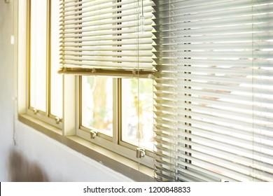 Horizontal Blinds Office Window Curtain