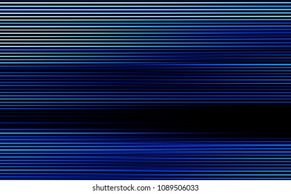 Horizontal blue scanline lines illustration background