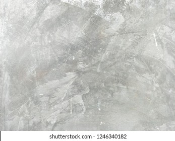 Horizontal bright pattern of flat bare mortar wall texture for with cracked for abstract background concept.