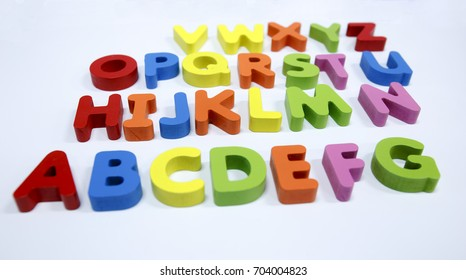 Horizontal color characters
