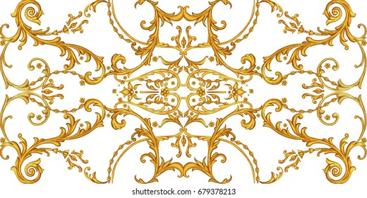 Horizontal decorative composition 5