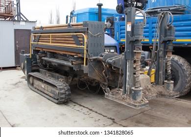 Horizontal direct drilling machine