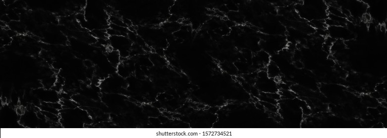 horizontal elegant black marble background.