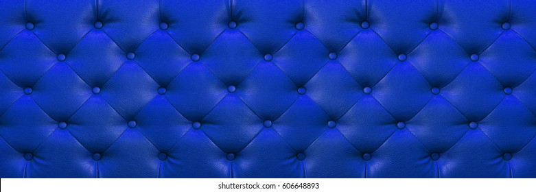 it is horizontal elegant dark blue leather texture with buttons for background and design.