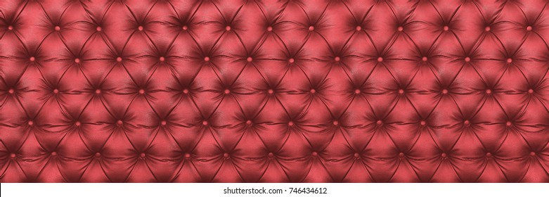 horizontal elegant dark red leather texture with buttons for pattern and background.
