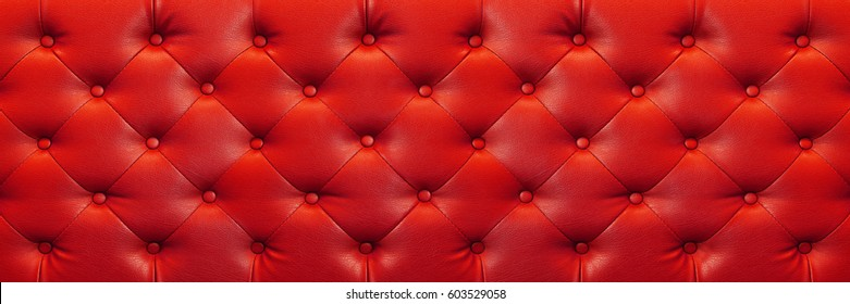 it is horizontal elegant red leather texture with buttons for background and design.