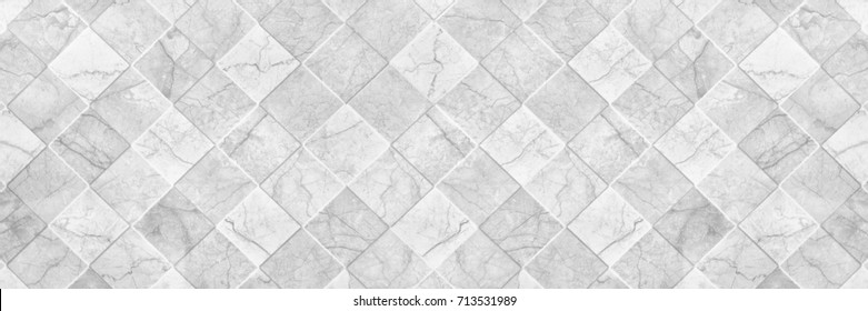 horizontal elegant white ceramic tile texture for pattern and background.