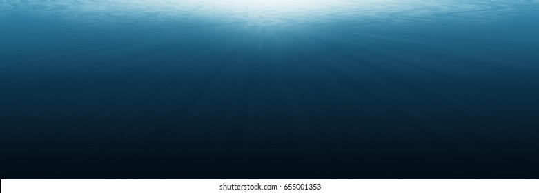 it is horizontal empty underwater for background and design.