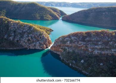 Horizontal falls, Talbot Bay, Western Australia.