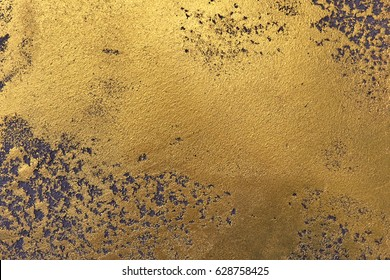horizontal golden walltexture of black gold