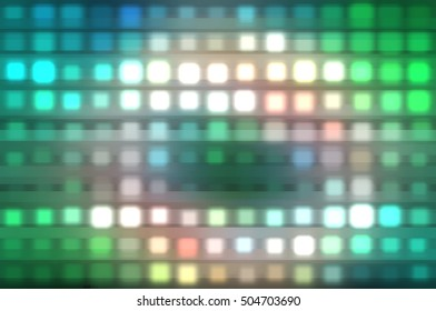 horizontal lines and strips abstract shiny multicolored background. illustration digital.