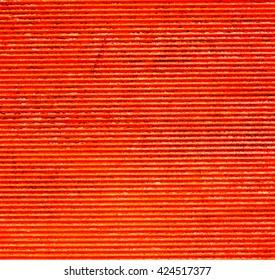 Horizontal orange striped texture background