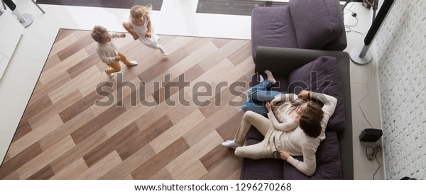 Prime Horizontal Photo Above View Couple Resting Stock Photo Edit Alphanode Cool Chair Designs And Ideas Alphanodeonline
