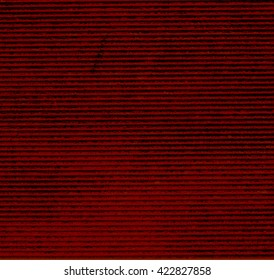 The horizontal red striped texture background