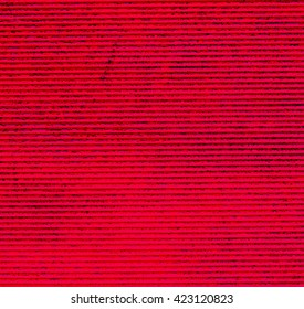 Horizontal red striped texture background