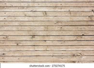 Horizontal striped wooden used surface