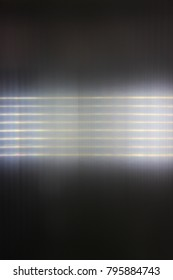Horizontal stripes of light. Abstract. Russia.