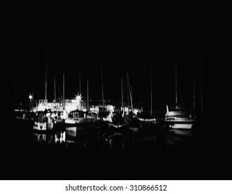 Horizontal vintage yacht club motion blur abstraction background