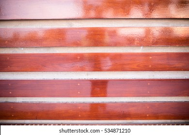 Horizontal Wood Panels